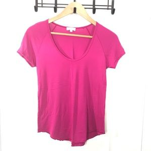 Wilfred XS Pink Short Sleeve Top